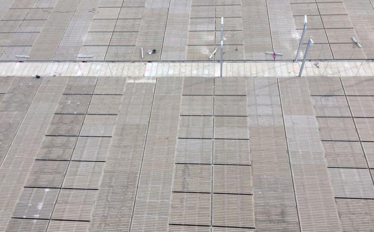 Nieuwbouw beton roosters