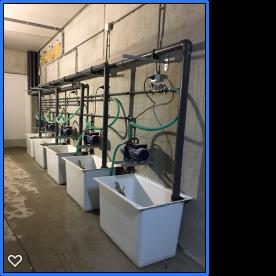 Diverse leiding/waterleiding